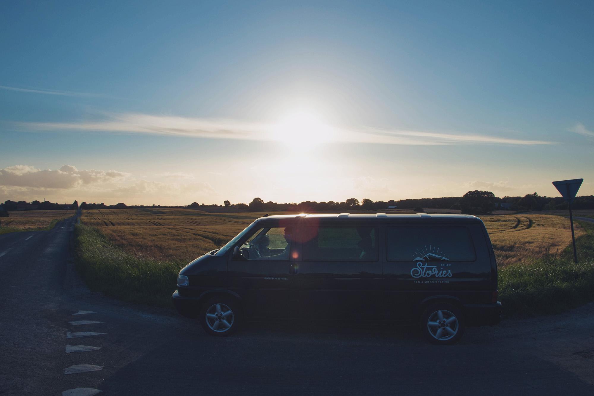 Countryside sunset, Denmark