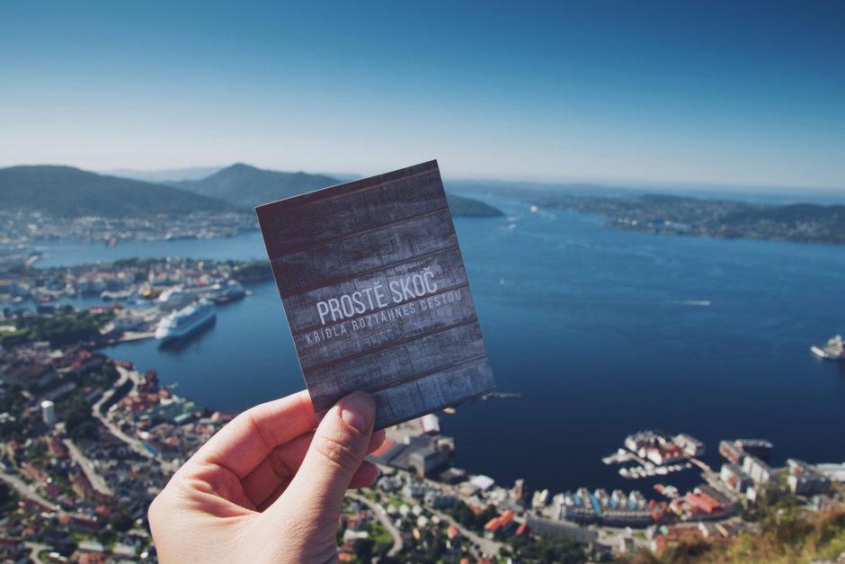 Prostě skoč, křídla rozháhneš cestou. Číča v kleci. Bergen, Norsko.